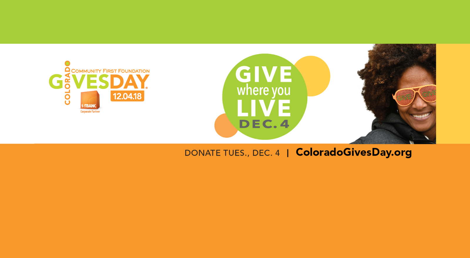 Donate through CO Gives!
